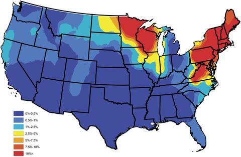 Lyme Disease Maps: Historical Data